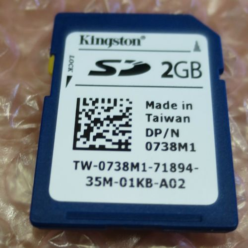 Dell 738M1 2GB Secure Digital Card SD Card 0738M1